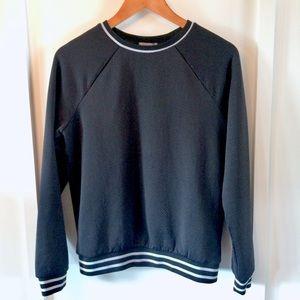 Forever 21 sporty chic mesh sweatshirt